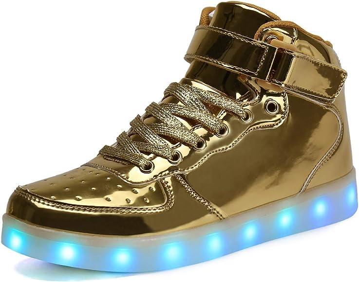 Voovix Unisex LED Shoes Light Up Shoes