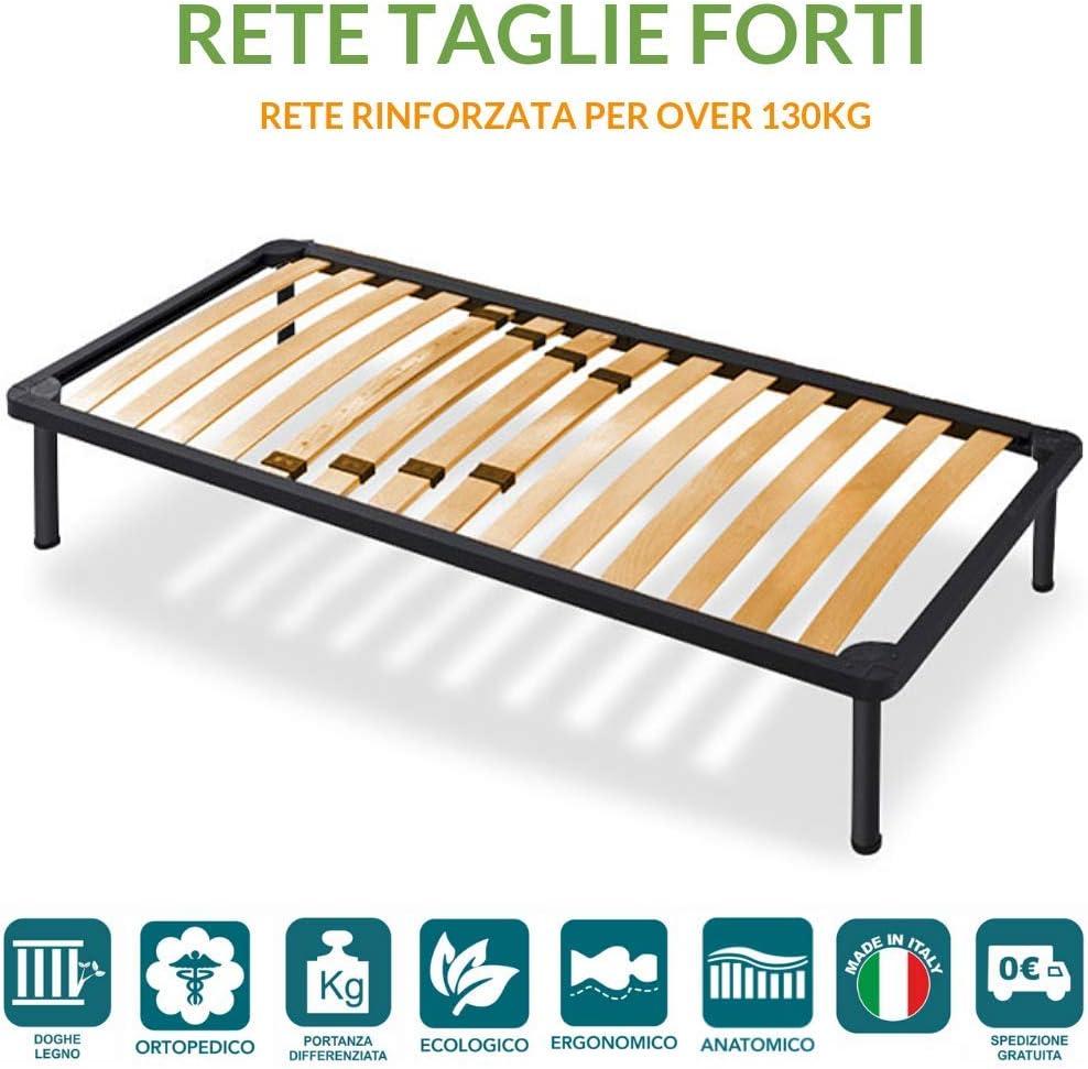 Somier de lamas de madera de fixer de hierro de cama individual para atrevidos cuatro miembros ortopédico de 80 x 200 cm