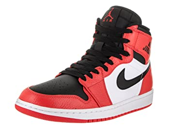 buy popular e19e5 3760a Nike Jordan Men s Air Jordan 1 Retro High Max Orange Black Basketball Shoe  11.5 Men