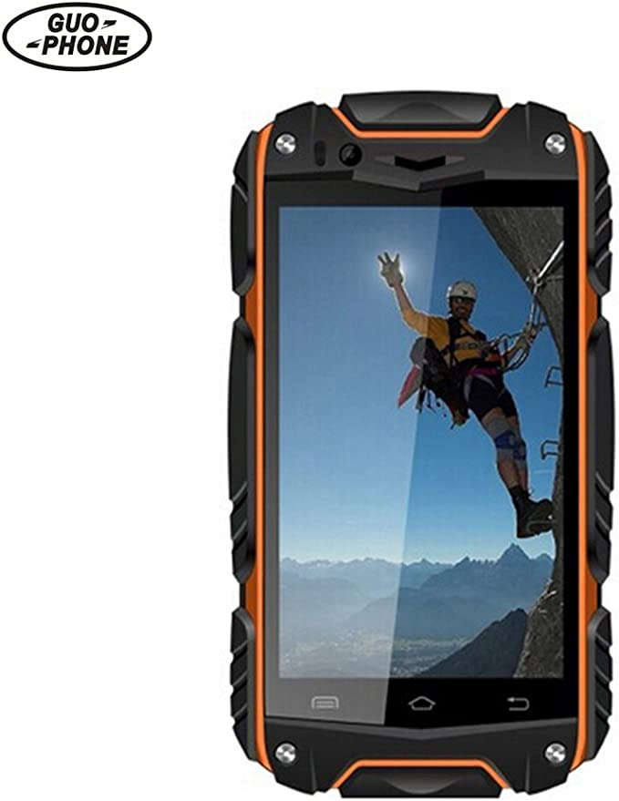 biback Guophone V8 IP68 Smartphone 4 Inch Android teléfono con ...