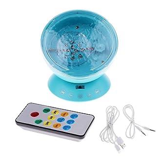 Tubayia - Proyector de luz nocturna con música para habitación ...