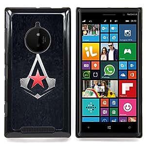 SKCASE Center / Funda Carcasa protectora - Asesinos Estrella;;;;;;;; - Nokia Lumia 830