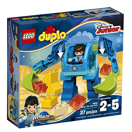 LEGO DUPLO Disney 10825 Miles Exo-Flex Suit Building Kit (37 Piece) (Lego Suit)