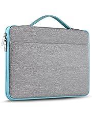 ZINZ Laptop Sleeve 15 15.6 16 Inch Case Briefcase, Compatible MacBook Pro 16 15.4 inch,Black