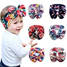 Quest Sweet Baby Girl Multicolor Hair Hoops Headbands,Bow Headbands(6-8 pack )
