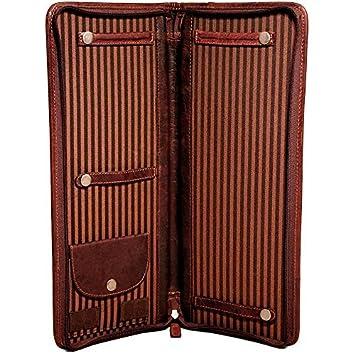 Brown Jack Georges Voyager Tie Case