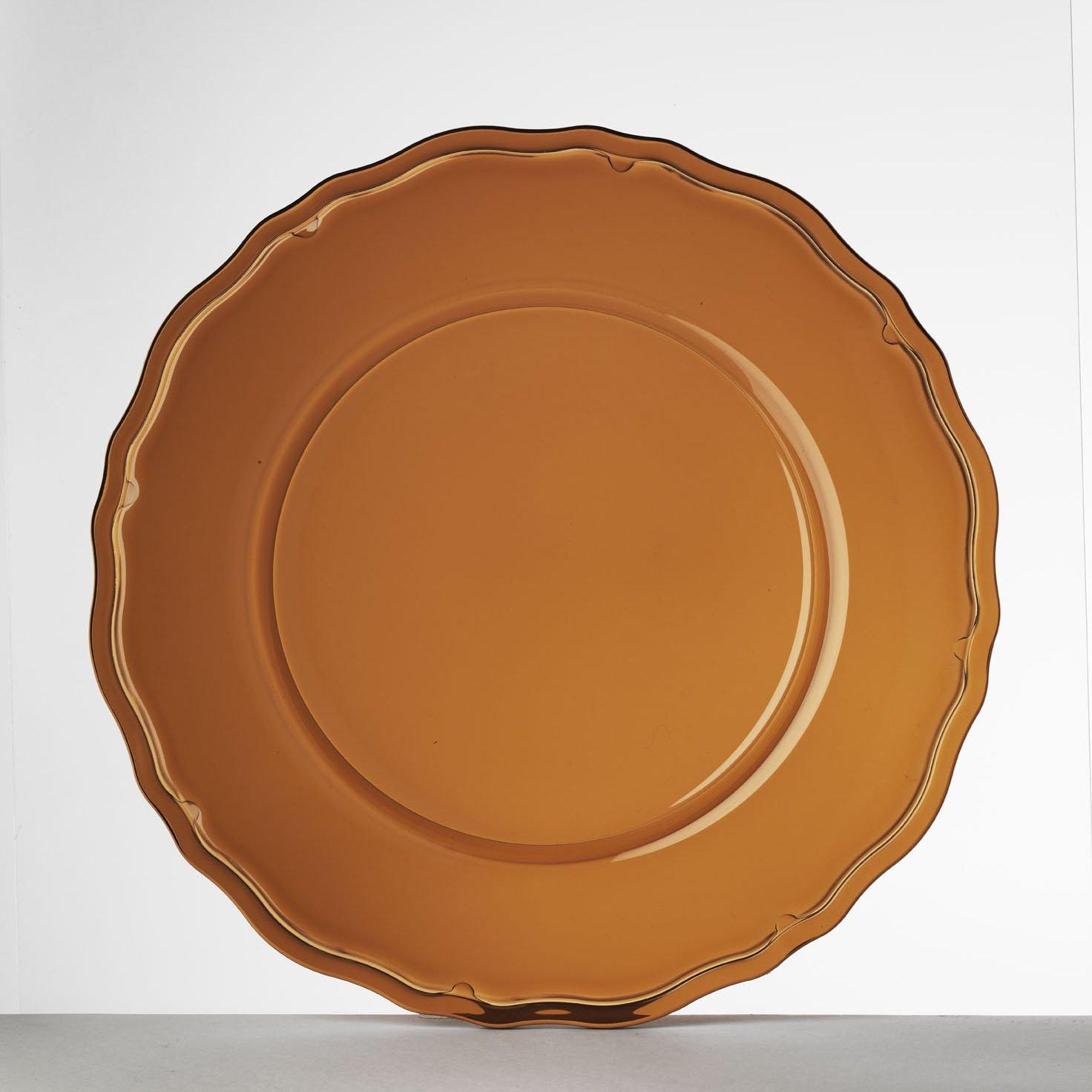 Mario Luca Giusti Set 6 Giotto Plate Amber by Mario Luca Giusti (Image #1)