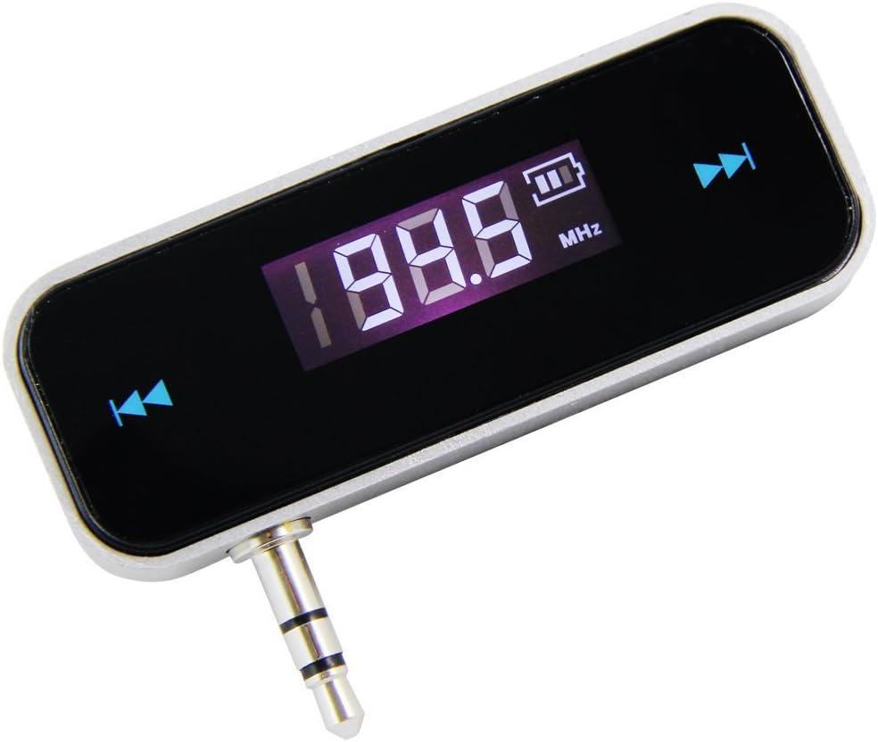 WOVELOT Wovellot 4S 5 5C Galaxy S4 Radio emisor FM para Reproductor de m/úsica de Coche para iPhone 4