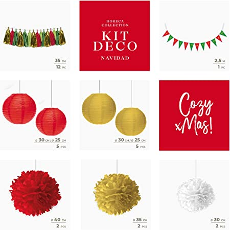 Horeca Collection [Pack Ahorro] Decoración Navidad Photocalls ...