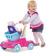 Andador Bebe Passeio Supermercado Merco Toys