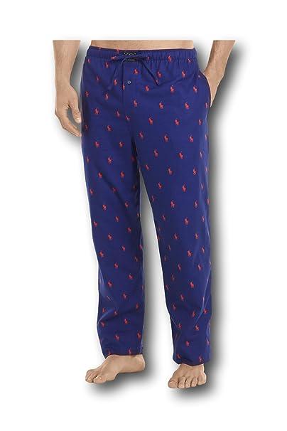 Print Pony Flannel Pajama Polo Lauren Pantsp006hr Men's Ralph hrdstQCx