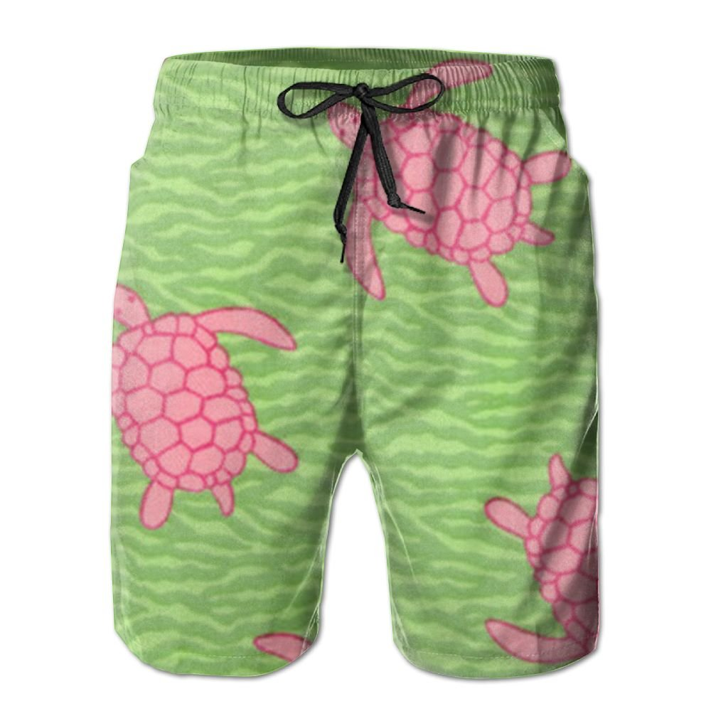 c7d5b977860a7 PPANFKEI Tortoise Sea Turtle Mens Breathable Board Shorts Loose Fit With  Liner Swimming Watershort Athletic Short