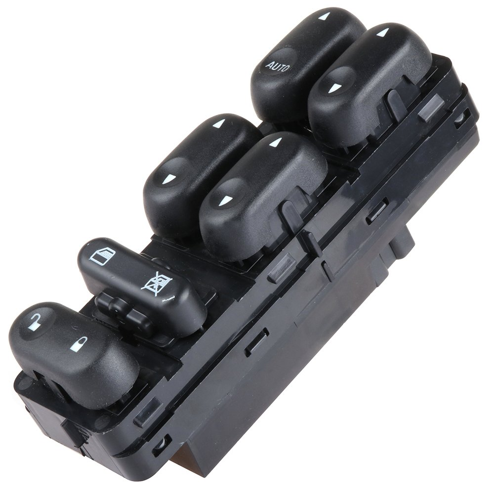 AUTOMUTO Fits for 2001-2007 Ford Escape 2001-2006 Mazda Tribute 2005-2007 Mercury Mariner Power Window Switch Driver Side Master Control Switch Factory Replace OE 3L8Z14529AAA
