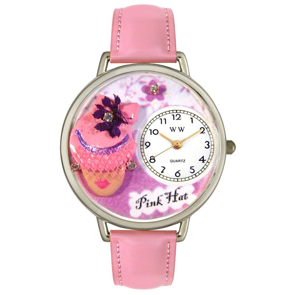 Whimsical Watches S-0610031 - Reloj analógico de Cuarzo Unisex, Correa de Cuero