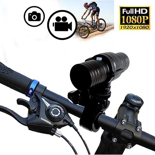 TIAN Mini Cámara De Deportes, Full HD 1080P Bicicleta Moto Casco ...