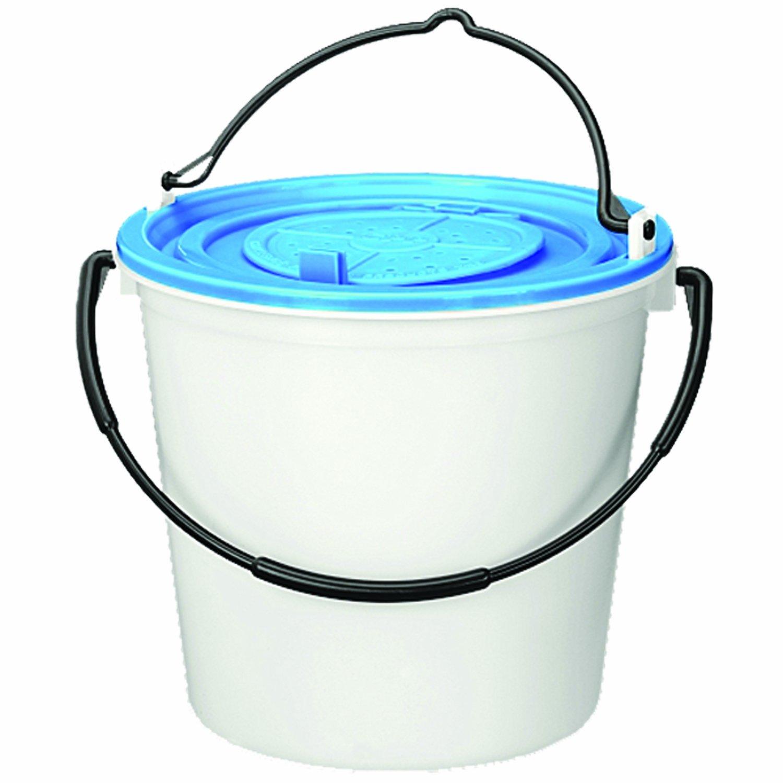 Challenge 50179 Live 10 Quart Bait Bucket-1 Piece, White