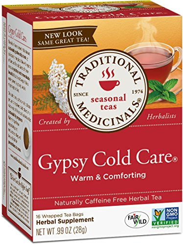 (Traditional Medicinals Gypsy Cold Care Seasonal Tea, 16 Tea Bags (Pack of 1))