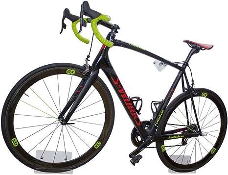 trelixx Soporte de Pared para Bicicleta acrílico Transparente para Bicicleta de Carreras, Soporte de diseño para Bicicleta con Montaje en la Pared, Vendido mil Veces: Amazon.es: Deportes y aire libre