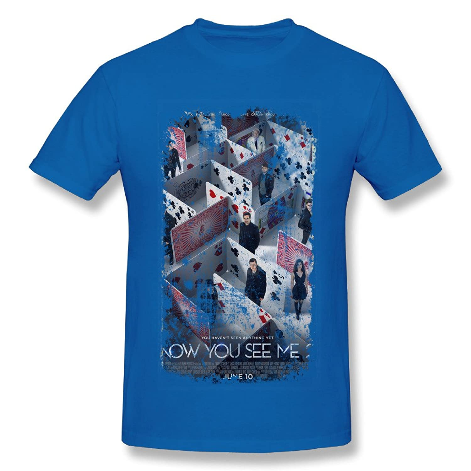 Classic-Men's Now You See Me 2 Movie Short-sleeve Shirt.