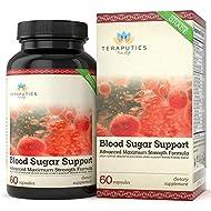 Blood Sugar Support - 20 Premium Ingredients - Alpha Lipoic Acid, Cinnamon, Chromium, Manganese + 16 More, 600mg, 60 Servings, Full Spectrum Glucose, Insulin, Cholesterol Control Supplement