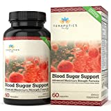 Blood Sugar Support – 20 Premium Ingredients – Alpha Lipoic Acid, Cinnamon, Chromium, Manganese + 16 More, 600mg, 60 Servings, Full Spectrum Glucose, Insulin, Cholesterol Control Supplement Review