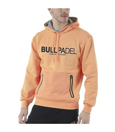Bull padel Sudadera BULLPADEL ORTEX Naranja Fluor (S ...
