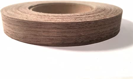 Easy Application Wood Edging Edge Supply Red Oak 1 X 50 Roll Preglued Iron on with Hot Melt Adhesive Made in USA. Flexible Wood Tape Sanded to Perfection Wood Veneer Edge Banding