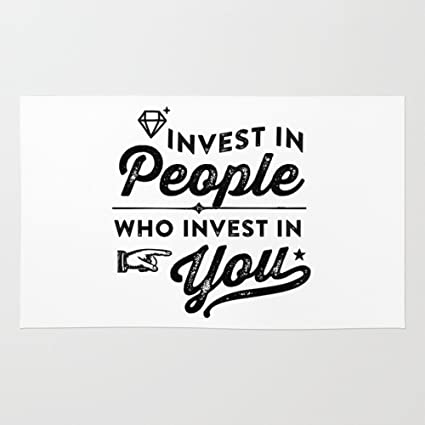amazon com society6 invest in people who invest in you rug 4 x 6