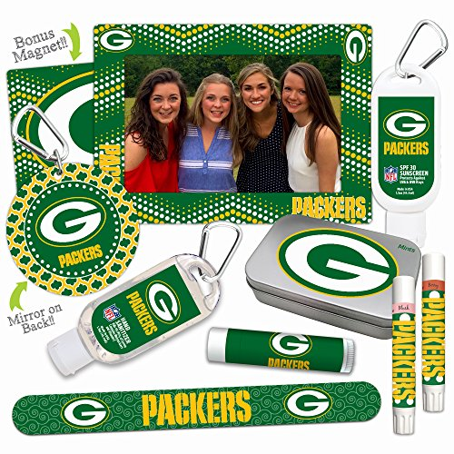 NFL Green Bay Packers Platinum Variety Set— with 2 Lip Shi