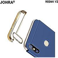 Johra® Matte 3 in 1 Finish Full Body Protective Back Cover Case for Xiaomi Mi Redmi Y2 - (Blue)