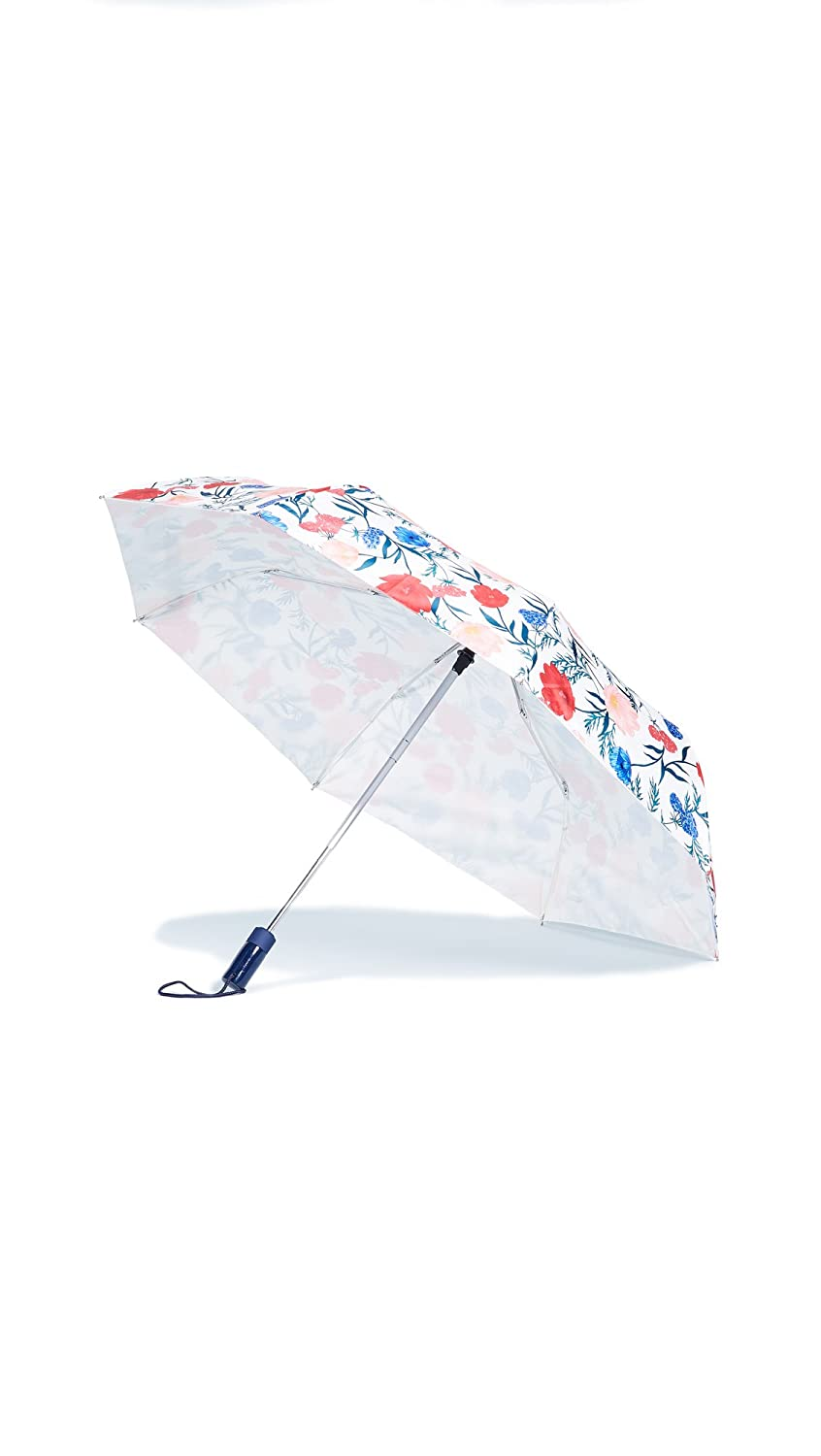 Kate Spade New York Women's Blossom Umbrella Red/White Multi One Size Lifeguard Press