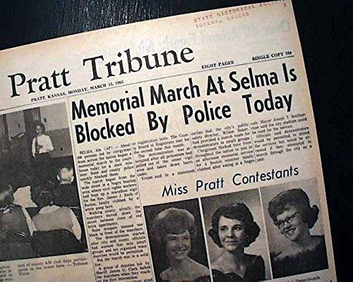 SELMA to MONTGOMERY AL Alabama Martin Lurther King Negroes