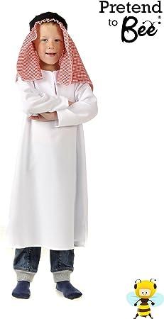 Boys Toys - Disfraz de árabe para niño, talla 5-7 años: Pretend to ...