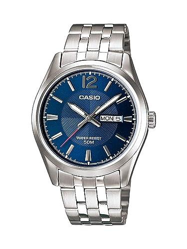 Casio Reloj con Movimiento Cuarzo japonés MTP-1335D-2A 38 mm: Casio: Amazon.es: Relojes