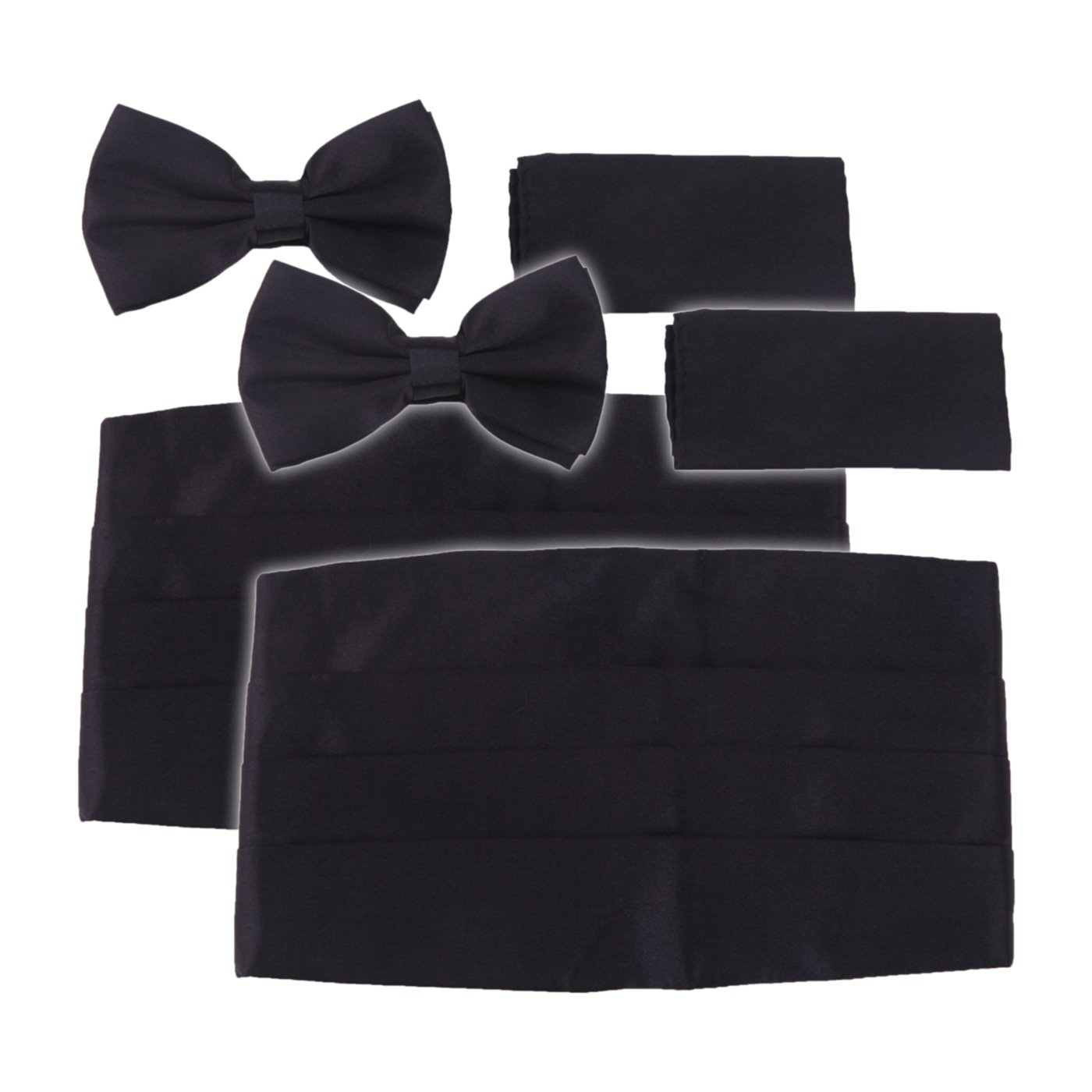 396996e2ee1c Adjustable bowtie, cummerbund, and pocket square set is perfect for any  formal occassion. Bowtie Max Necksize: 18