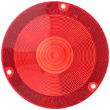 Grote 90342 Reflectrzd Lens Red