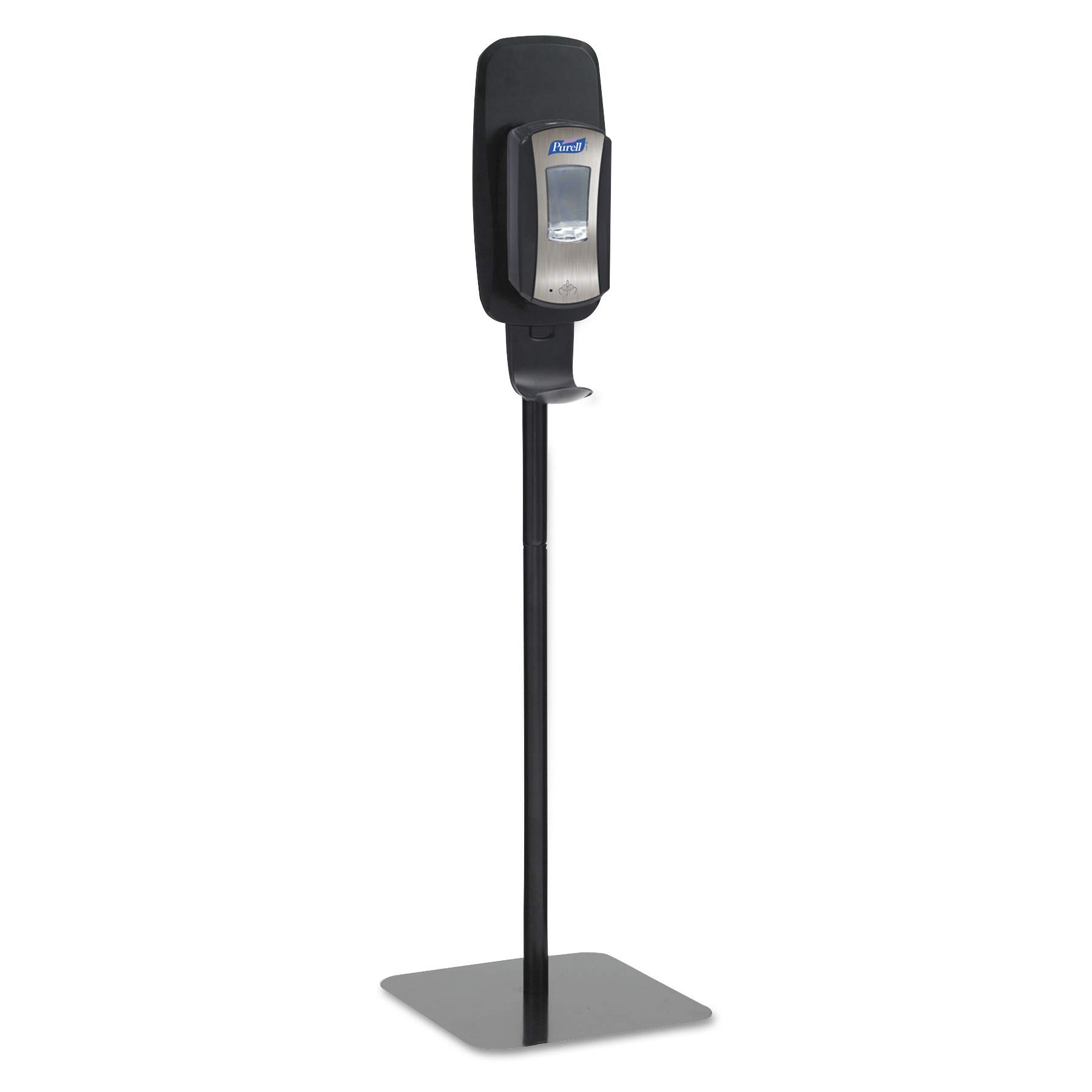 PURELL Hand Sanitizer Dispenser Floor Stand, Black, Floor Stand for use with PURELL LTX or TFX Touch-Free Sanitizer Dispensers - 2425-DS by Purell