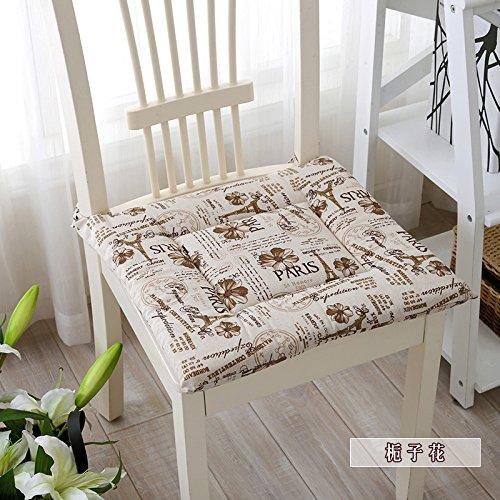 kang-jia-chengコットン、リネンシンプルなクッション、コンピュータ椅子畳のパッドシートクッション 40x40cm(16x16inch) HUJIAHEFAA B07CB9KZS9  K 40x40cm(16x16inch)
