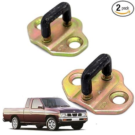 Powerwarauto Plate Assy Door Lock Striker Latch For Nissan Navara D21 Big-M  Big M Hardbody Pick-Up Truck 1986 1990 1991-1997