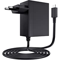 EXTSUD Cargador para Nintendo Switch, Adaptador USB Tipo