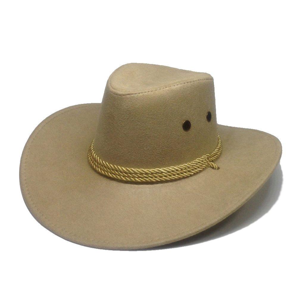 Men Sun Hats, Summer Fashion Travel Faux Leather Solid Unisex Hat