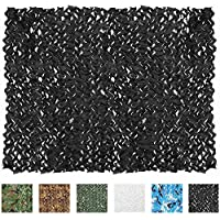 IUNIO Camouflage Netting, Camo Net Blinds Great for...
