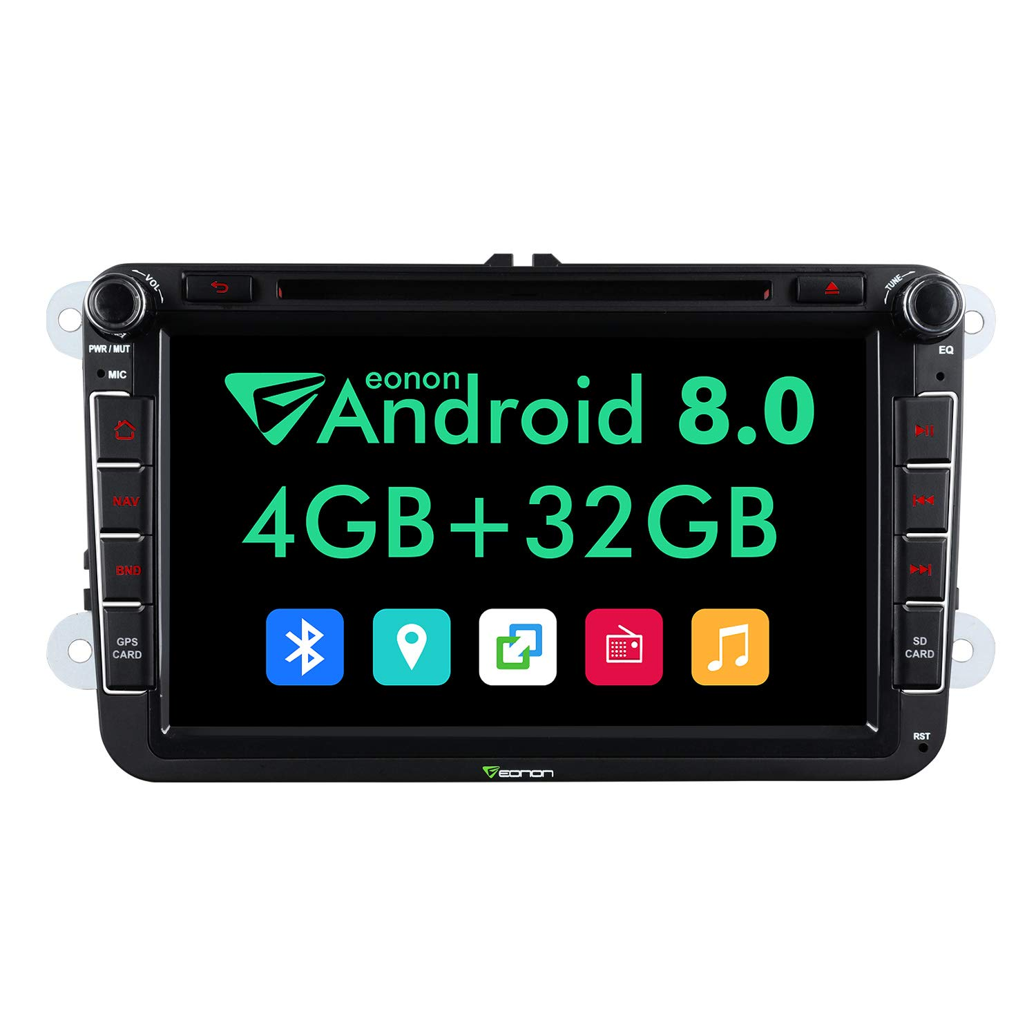 Eonon Android 8 0 Car Stereo Radio Audio for 8 Inch: Amazon co uk