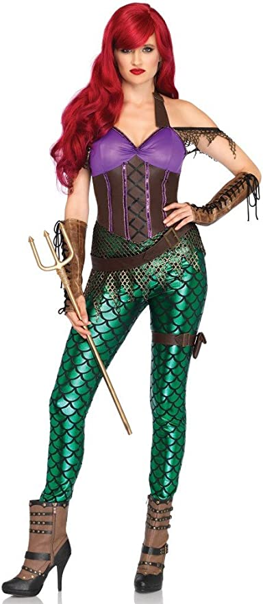 shoperama Rebel Mermaid Disfraz para Mujer De Leg Avenue Sirena ...