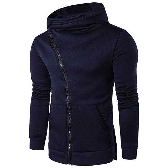Venmo Hombres Cremallera Sudadera con Capucha Abrigo Suéter Ropa Casual Camiseta Tops: Amazon.es: Ropa y accesorios