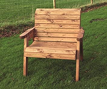 Amazonde Große Holz Garten Sessel Extra Breit Garten