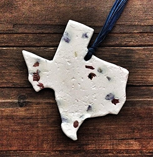 Texas Bluebonnet Ornament (Single) - Seed Paper Ornament