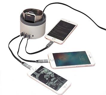 fzoe 30 W 6 A 5 Puerto USB Cargador Cargador De Mesa ...