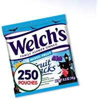 Welch's Fruit Snacks, Halloween Shaped Fruit Snacks, Gluten Free, Bulk Pack, 0.5 oz Individual Single Serve Bags (Pack…