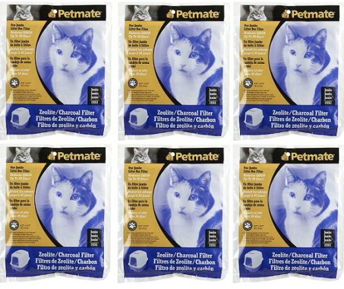 Petmate Zeolite Filters Pack 6